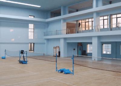 Terrains de badminton